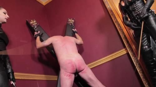 Double Domina Cane Assault (Cybill Troy And Mistress Tangent)