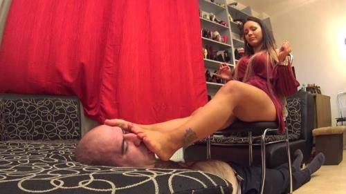 Powerless Underfoot - Shoe And Foot Domination