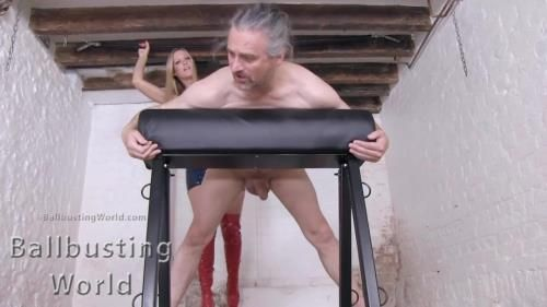 Ballbusting: A Reminder Of His Inferiority Bb1408