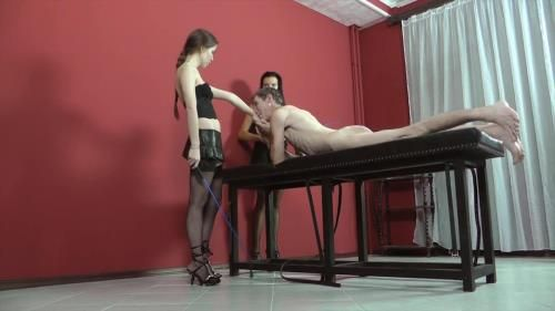 Mistress Leanna, Mistress Deborah - Caning And Slapping