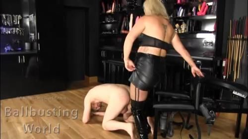 Mistress Athena - Ballbusted By Athena Bb1421
