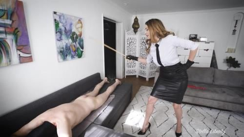 Headmaster Caned And Paddled By Headmistress