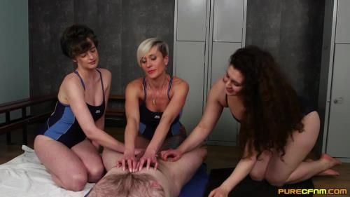 Katie Olsen, Lili Miss Arab, Tanya Virago - Changing Room Swap