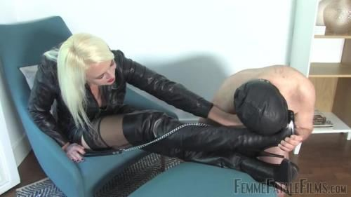 Divine Mistress Heather - Leather Licker - Complete Film