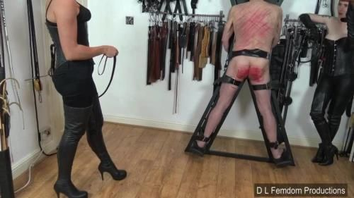 Domina Liza, The Hunteress - Double Crossed Whipping
