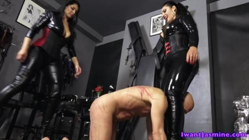 Mistress Ezada Sinn - Beating His Manhood