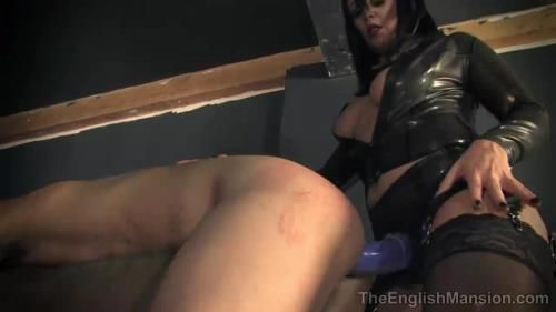 Miss Hendrix, Miss Jasmine, Mistress Sidonia - Huge Strapon Gangbang Part 2