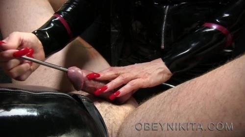 Obey Nikita - Stretching My Cock Hole