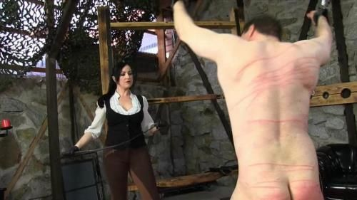Miss Jessica - A Merciless Whipping By Miss Woods