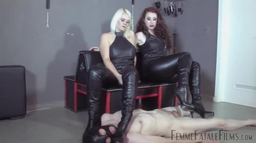 Mistress Heather, Mistress Lady Renee - Brutal Boots Part 2