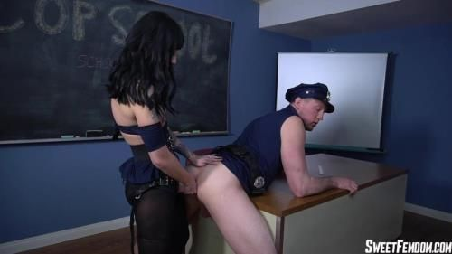 Charlotte Sartre - Cop School Ass Fucking Part 1