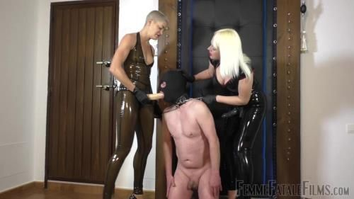 Divine Mistress Heather, The Hunteress - Double Dildo Degredation - Part 1