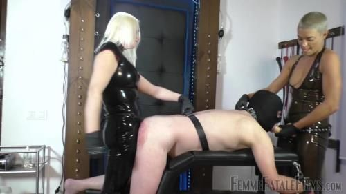 Divine Mistress Heather, The Hunteress - Double Dildo Degredation - Complete Film