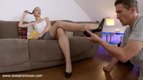 Our Nylon Stockings Are So Sweaty And Stinky - Part 2