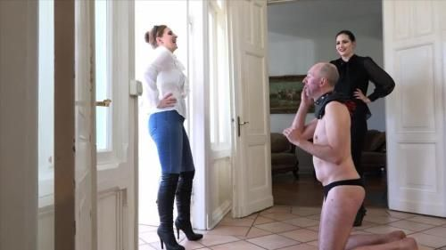 Mistress Nemesis, Mistress Cloe - Slapped By Young Ladies