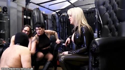 Mistress Tess, Mistress Nera Skye, Mistress Krush - Keeping Our Ashtray Busy