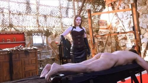 Mistress Cloe - Caned On The Bench