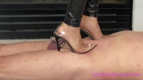 Goddess Draya - These Heels Are Made For Walking Allover Slaves