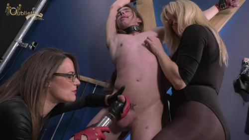 Mistress Krush, Mistress Tease - Tormented Onthe Cross