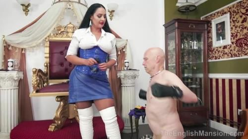 Mistress Ezada Sinn - Man To Dog - Part 2