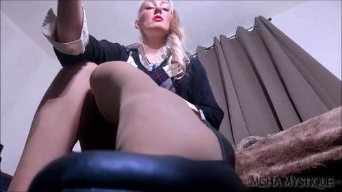 Detention: Teacher Pantyhose Femdom Joi Cei