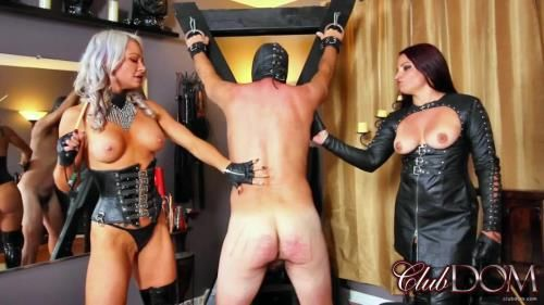 Adara And Michelle Caning Slave
