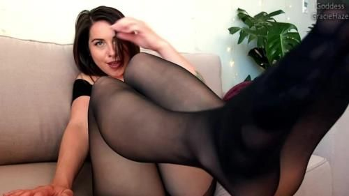 Gracie Haze - Nylon Foot Love