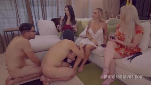 Mistress Kayla, Mistress Ali - Typical Girls Night, Part 2