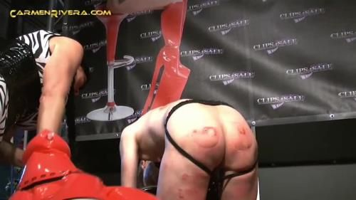 Carmen Rivera, Fetish Liza, Bondage Bitch, Slutty Bitch Lucia, Maskierter Mann 1 - Pussy Cats 3