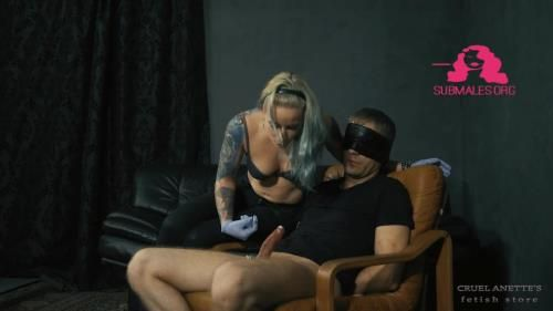 Mistress Anett - Tight Balls, Hard Cock