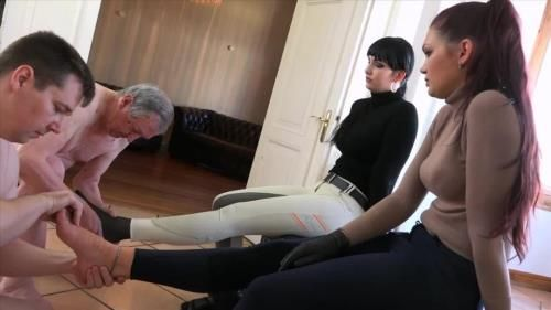 Lady Sofia, Mistress Nemesis - Footmassage For The Ladies