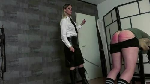 Lady Mystique - Caned Hard By The Teacheress
