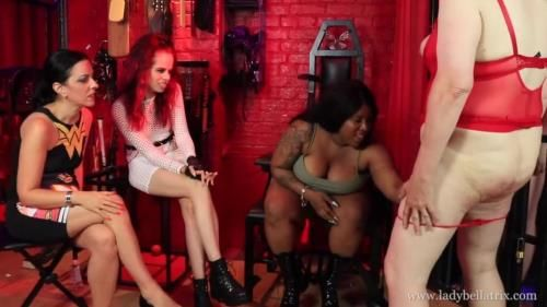 Lady Bellatrix, Mistress Esme, Miss Tiffany Naylor - Show Us Your Tits, Sissy Bitch