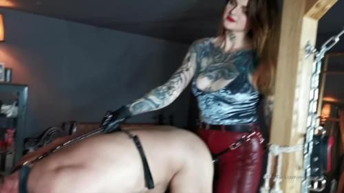 Miss Melisande Sin - Watch Me Enjoy My Male Slut In My Dungeon