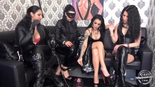Goddess Ezada Sinn, Mistress Gaia, Mistress Kennya, Mistress Lexa - 4 Ladies And 1 Slave