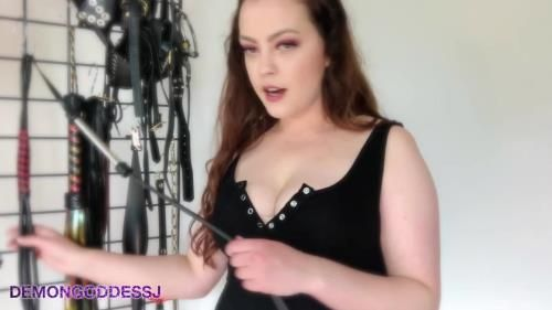 Demon Goddess J - Girlfriend Turns Dom Role Play