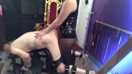 Goddess Gynarchy - Slave Getting Pegged