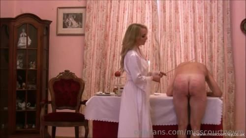 Miss Courtney - Humiliating My Slave Over Breakfast