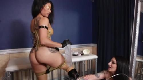 Cybill Troy, Goddess Tangent - Cock Stapling For Their Thirsty Human Ashtray