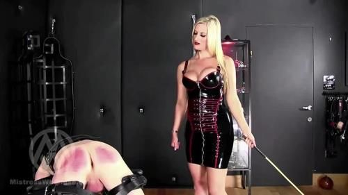 Mistress Nikki Whiplash - No Mercy Caning For Two Naughty Slaves Part Iii Wl1502