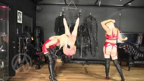 Mistress Nikki Whiplash - Inverted Suspension Whipping