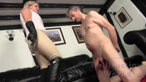 Mistress Frankie - Ballbusted Stablehand