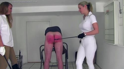 Nikki And Cate Punishing The Stableboy