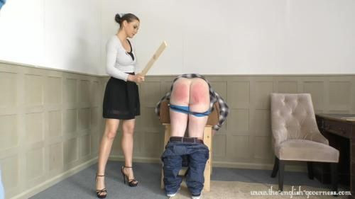 Double Miscreant Punishment From Miss Tina Kay Part One