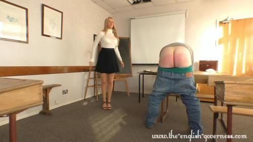 A Detention Strapping Caning From Miss Kenworthy
