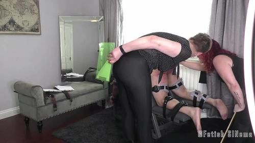 Mistress Baton, Miss Katherine Kendal - Ordered By The Court - A Harsh Judicial Punishment
