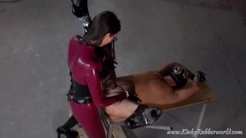 Fucked From The Asian Rubber Mistress