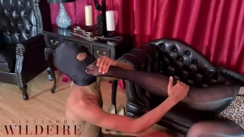 Alexandra Wildfire - Nylon Worship - Slave Training And Punishment