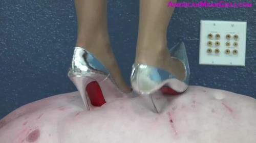 Dont Fuck With My Money (Part Two) Goddess Platinum Trampling With High Heels