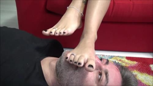 Divine Goddess Gabriella - I Totally Own You - Endless Foot Domination, Foot Worship, Foot Gagging, Toe Sucking, Human Footstool